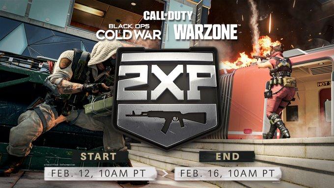 Служебный долг: Black Ops холодной войны и Warzone предлагает двойное оружие XP сейчас