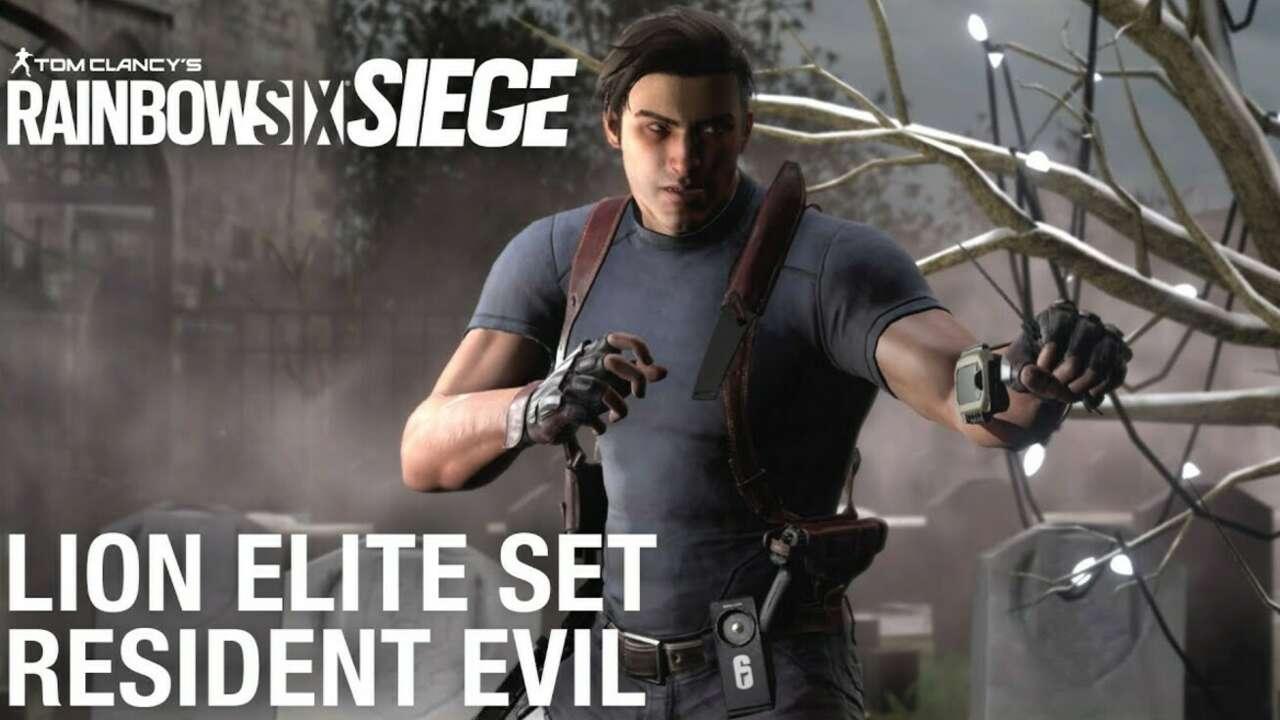 Леон С. Кеннеди Из Resident Evil Сейчас Находится В Осаде Rainbow Six